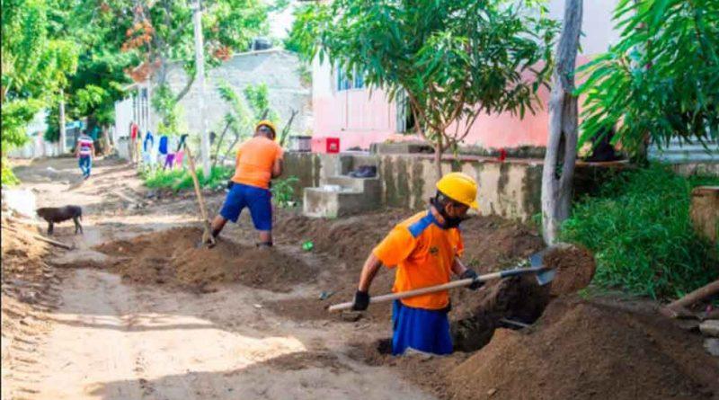 En Santa Marta Obras de acueducto garantizan más agua para La Paz