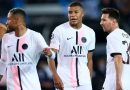 PSG de Messi, Neymar y Mbappé cayó ante el Stade Rennais