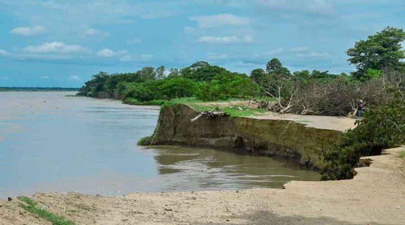 El rio amenaza con tragarse al municipio SOS Salamina