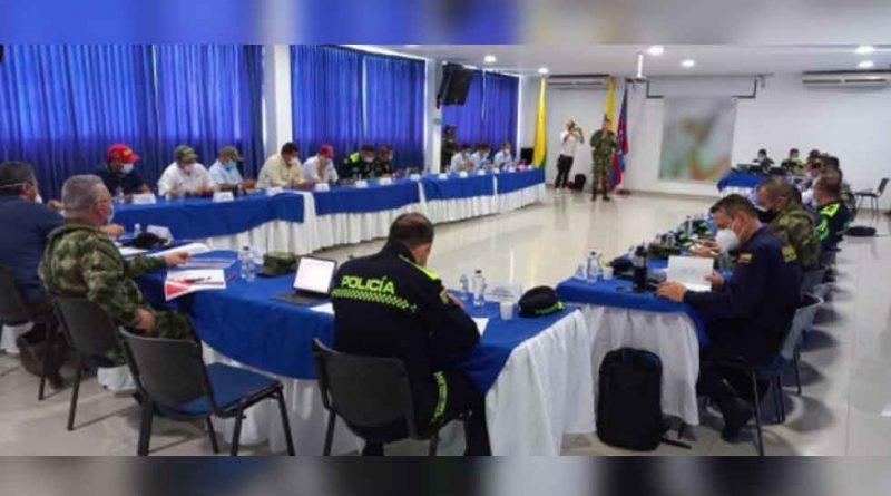Viceministros del Interior y Defensa se comprometieron con la seguridad del Magdalena